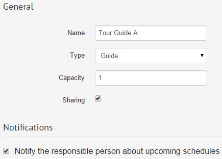 resource management booking system