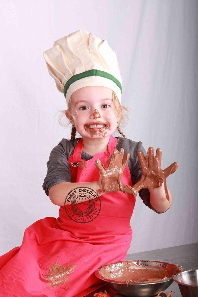 Children love chocolate