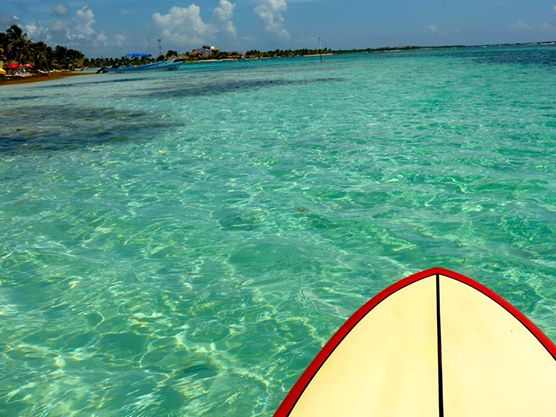 Paddle Board Blue Water