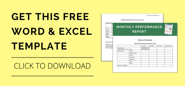 How To Track Your Monthly Sales And Marketing Performance Free