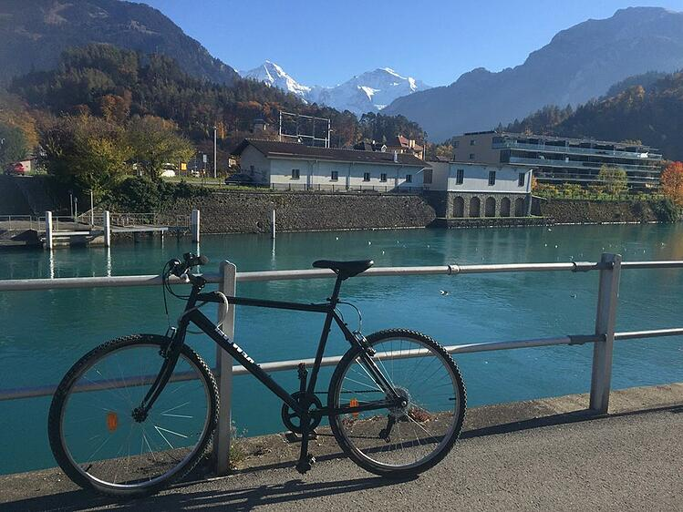 TrekkSoft bike ride in Interlaken