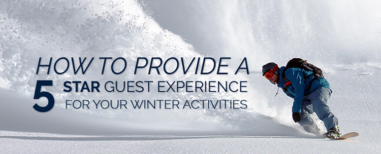Winter activities guest experience