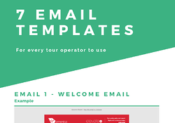 Workbook: 7 Email Templates for tour operators Image