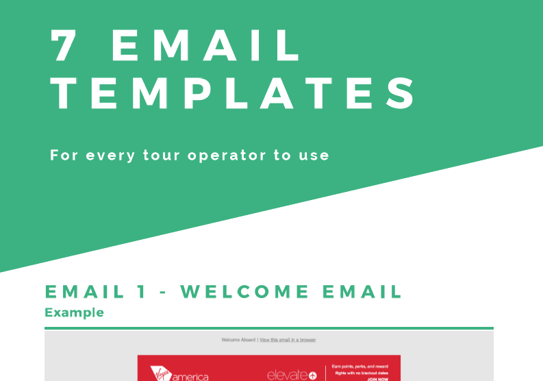7 Email Templates for Tour Operators