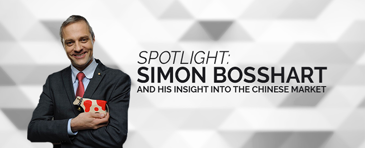 Spotlight on Simon Bosshart and his insight into the Chinese market
