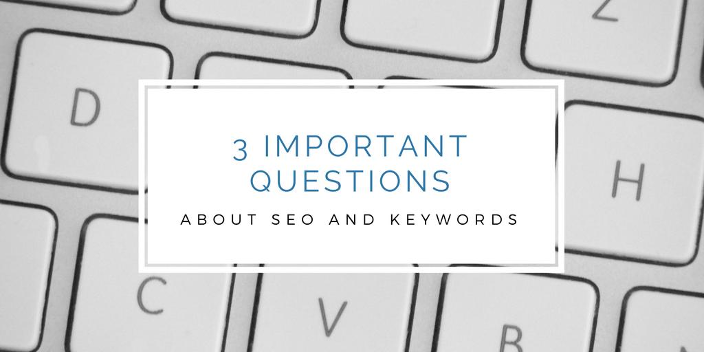Seo and keywords