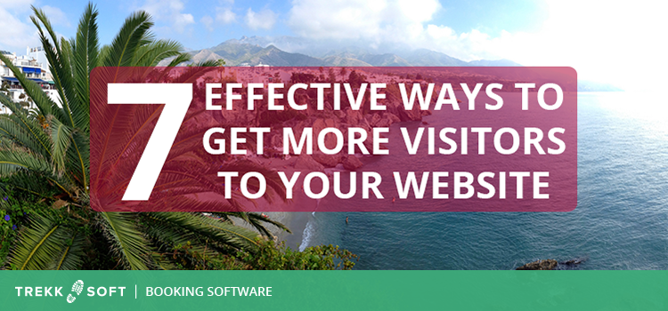 Get more website visitors to your tourism website