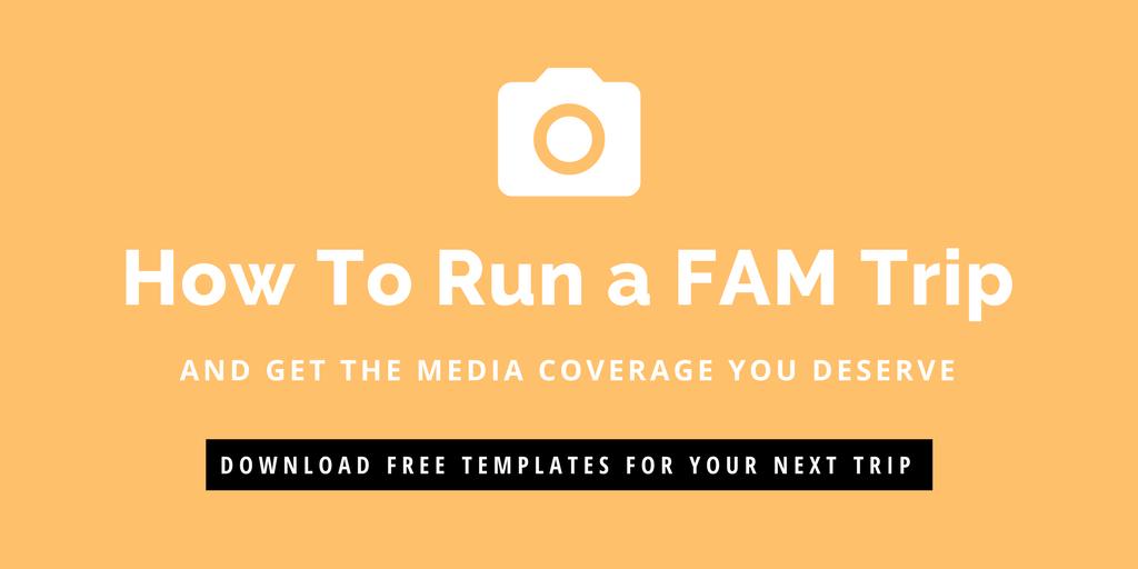How to run a FAM trip