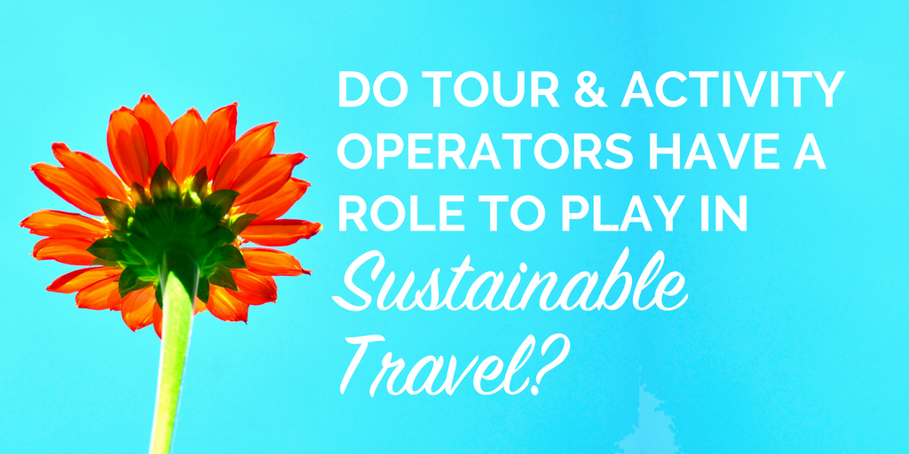 Do tour and activity operators have a role to play in sustainable travel?