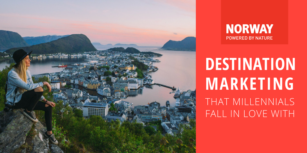 Destination marketing that millennials fall in love with
