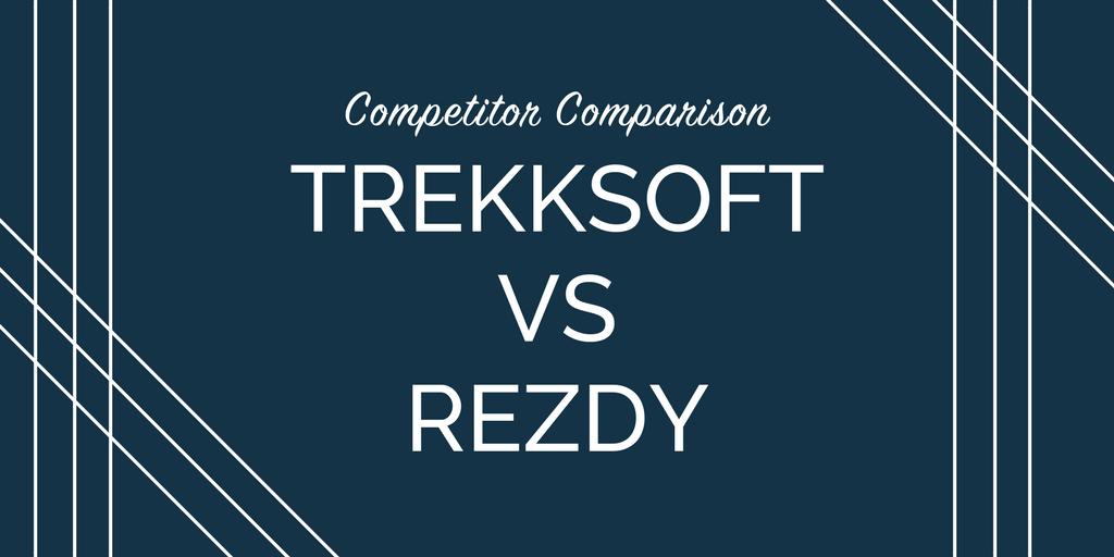 Competitor comparison: TrekkSoft vs Rezdy