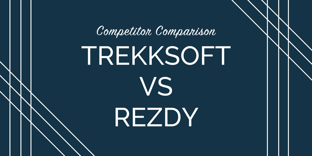 Competitor comparison: TrekkSoft vs Rezdy