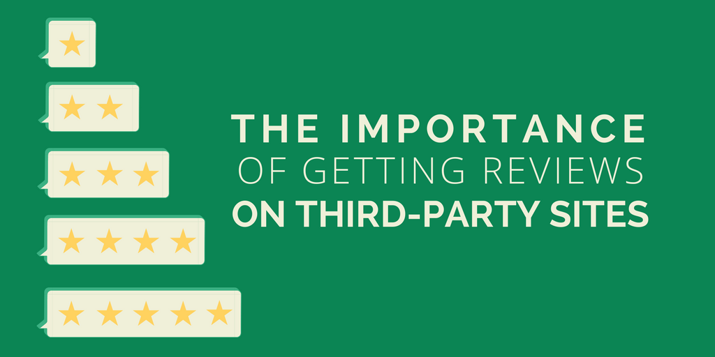 The importance of getting reviews on third-party sites