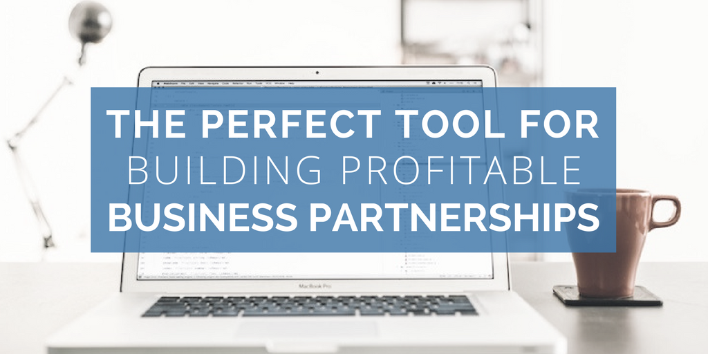 The perfect tool for building profitable business partnerships