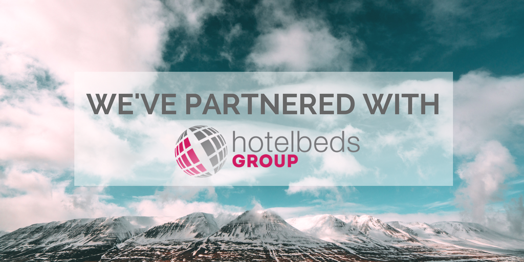 We've partnered with Hotelbeds group
