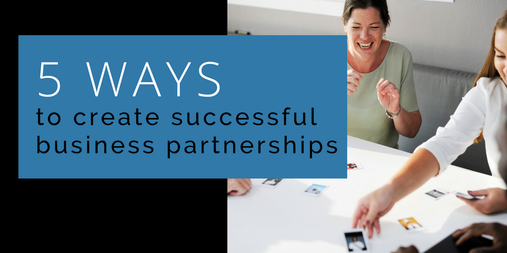 Successful business partnerships