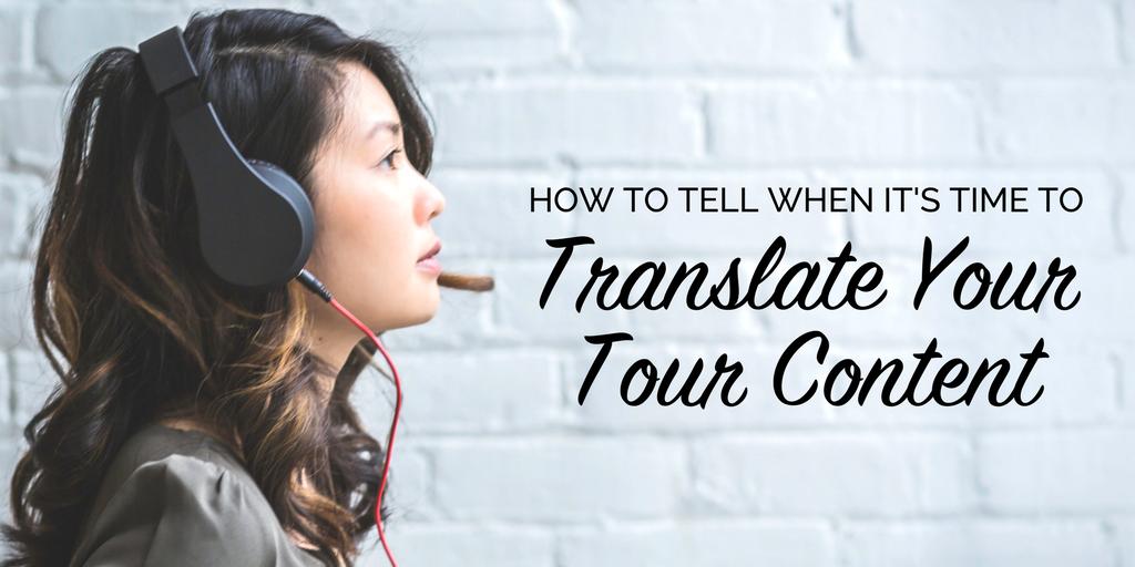 Translate Tour Content