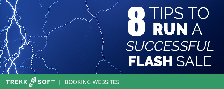 Run a flash sale as a tour or activity business