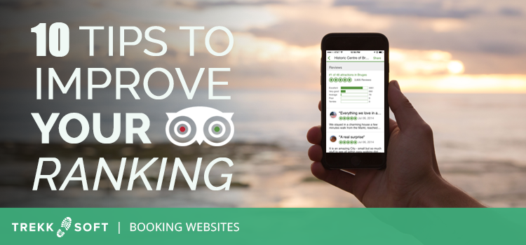 Trekksoft improve TripAdvisor Ranking 10 Tips