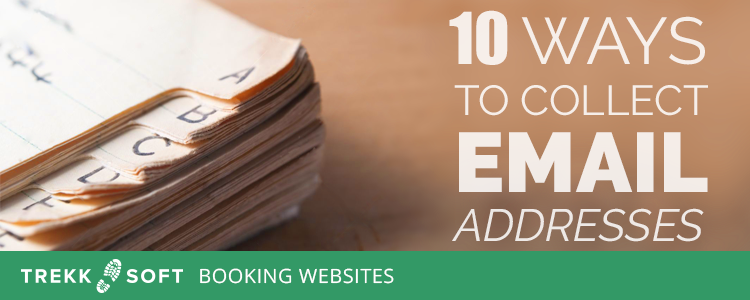 10 ways to collect email addresses