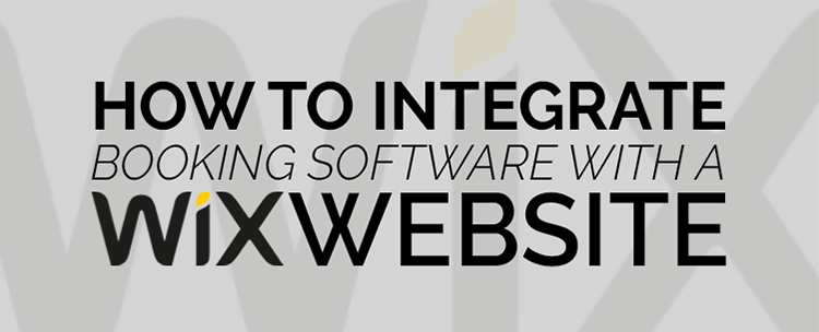How to integrate booking software with a Wix website