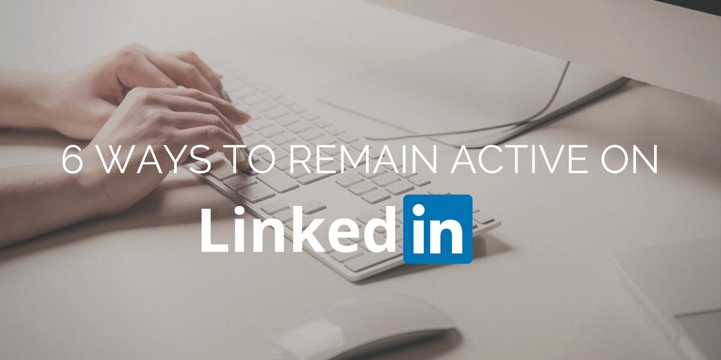 Active on LinkedIn