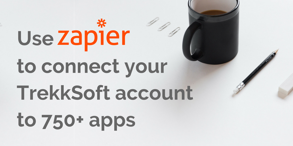 Use Zapier to connect your TrekkSoft account to 750+ apps