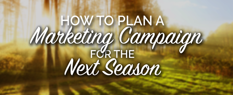 How to plan a marketing campaign for the next season