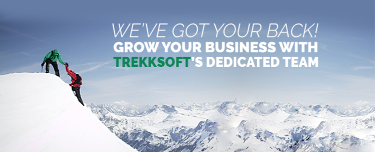 We've got your back! Grow your business with TrekkSoft's dedicated team.