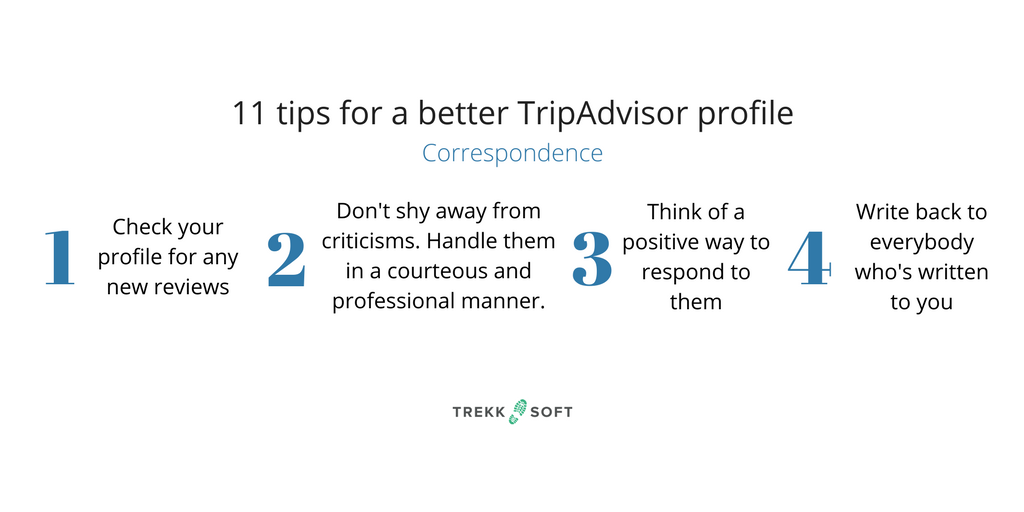 Better TripAdvisor profile
