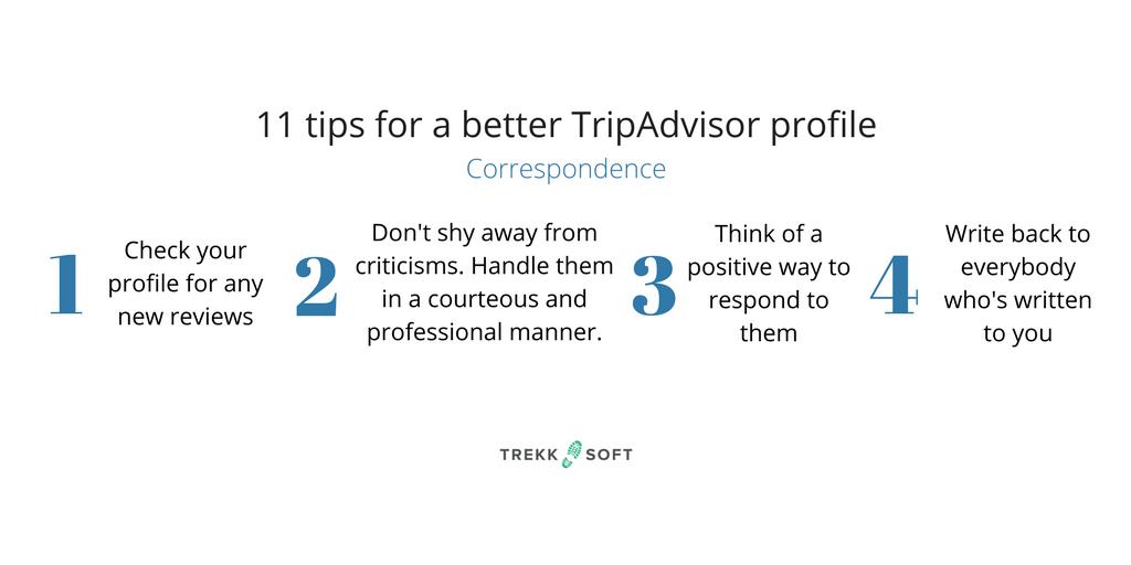 Better TripAdvisor profile