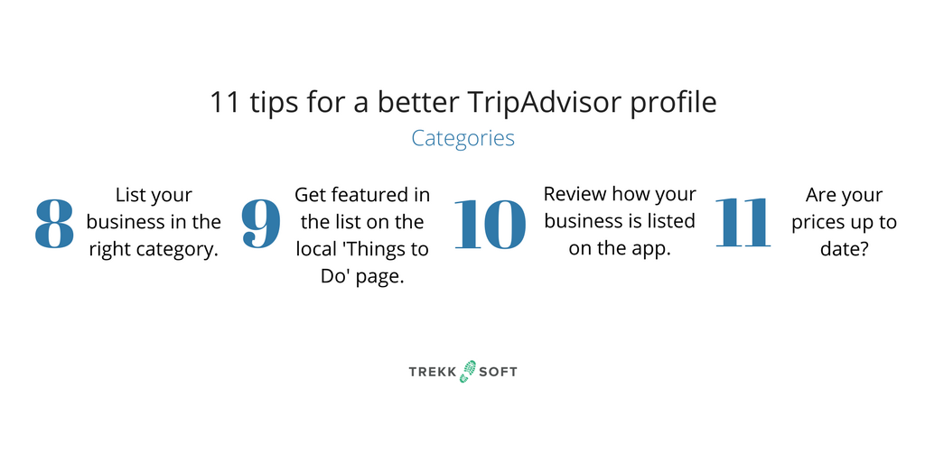 Advice for TripAdvisor