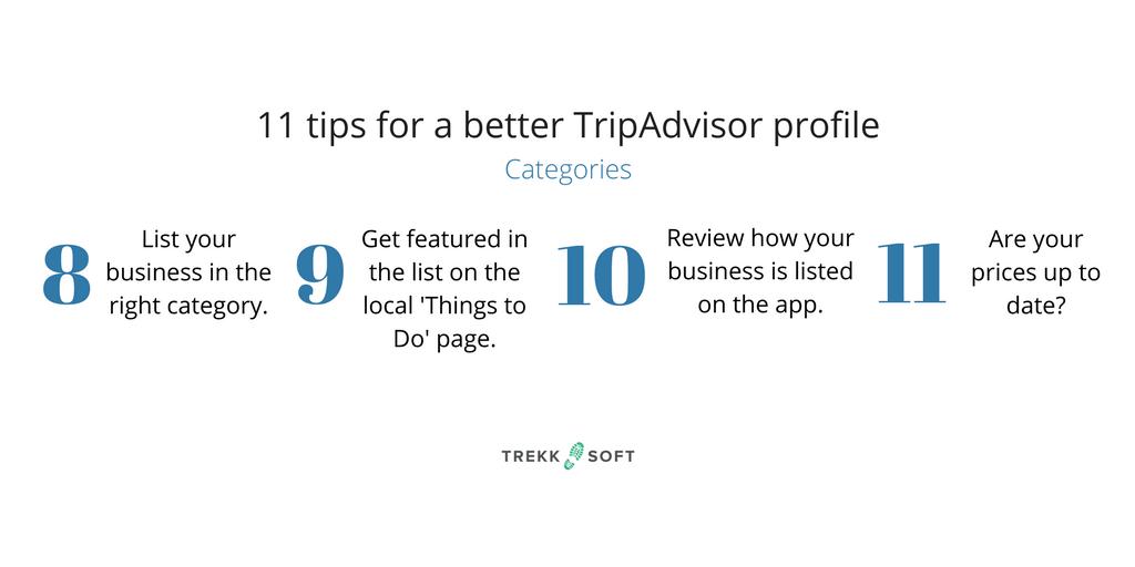 Advice for TripAdvisor