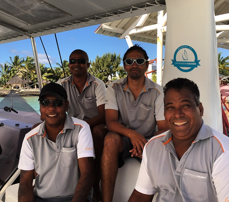 Reselling trips with Catamaran Cruises Mauritius