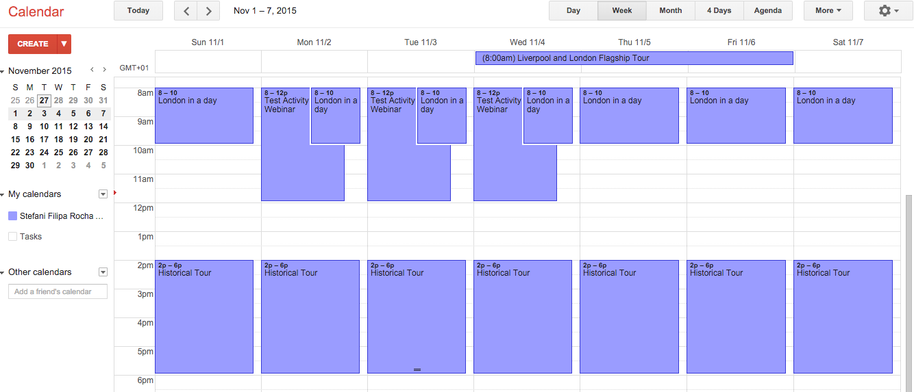 Google Calendar sync for booking software