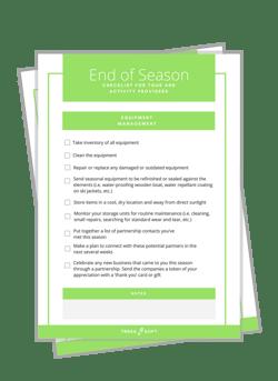 End of Season Checklist Image