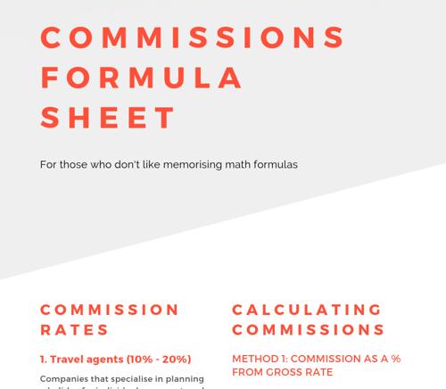 Commission Formula sheet - LP header
