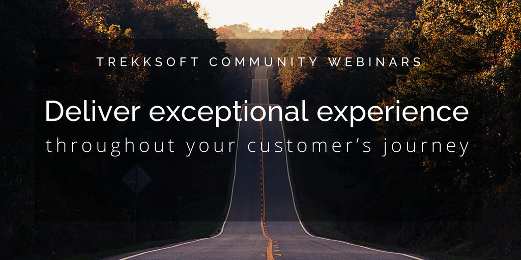 Deliver exceptional experience throughout your customer's journey Image