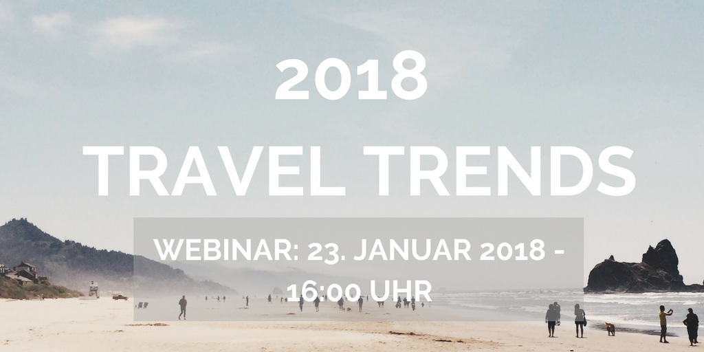 Reisetrend-Webinar 2018