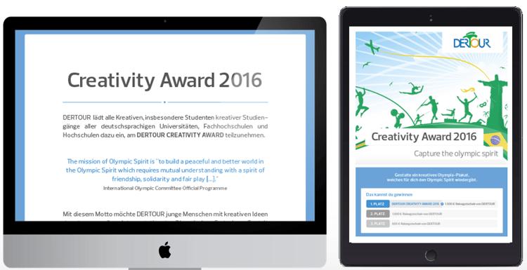 Hook-Beispiel Dertour Creativity Award