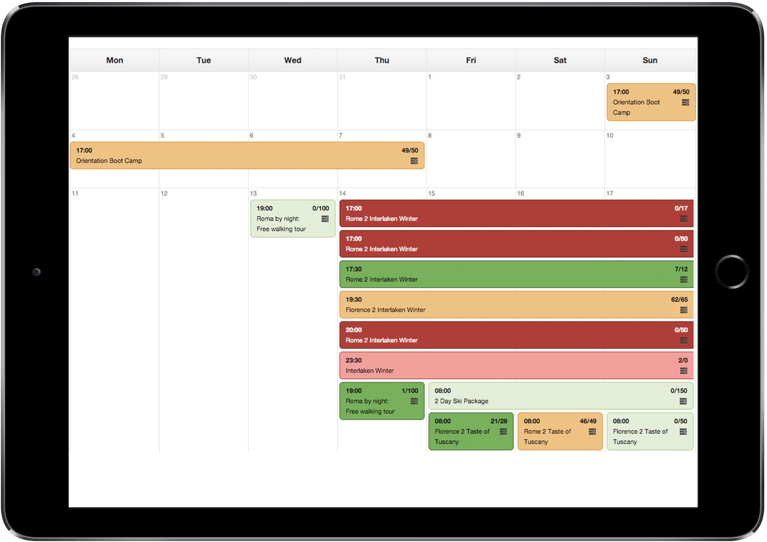 interfaz_trekksoft_calendario