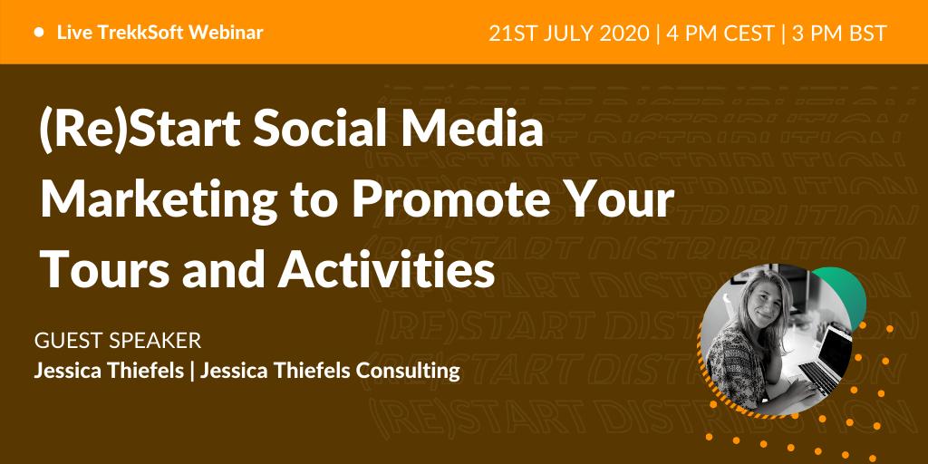Restart social media marketing - Jessica