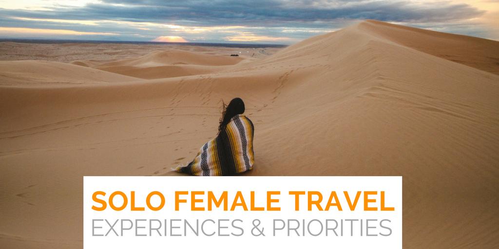 Solo female travel trend