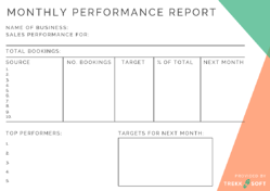 Sales & Marketing reports with these templates Image