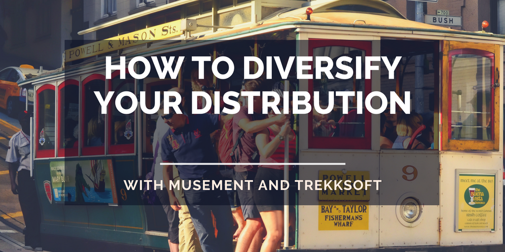 How to diversify your distribution with Musement and TrekkSoft Image