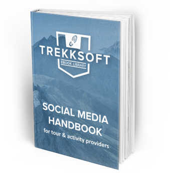 TrekkSoft Social Media Handbook for tour and activity providers Facebook Twitter Ebook