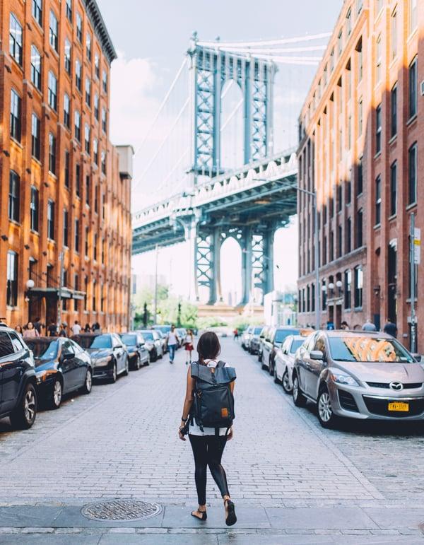 Exploring a city