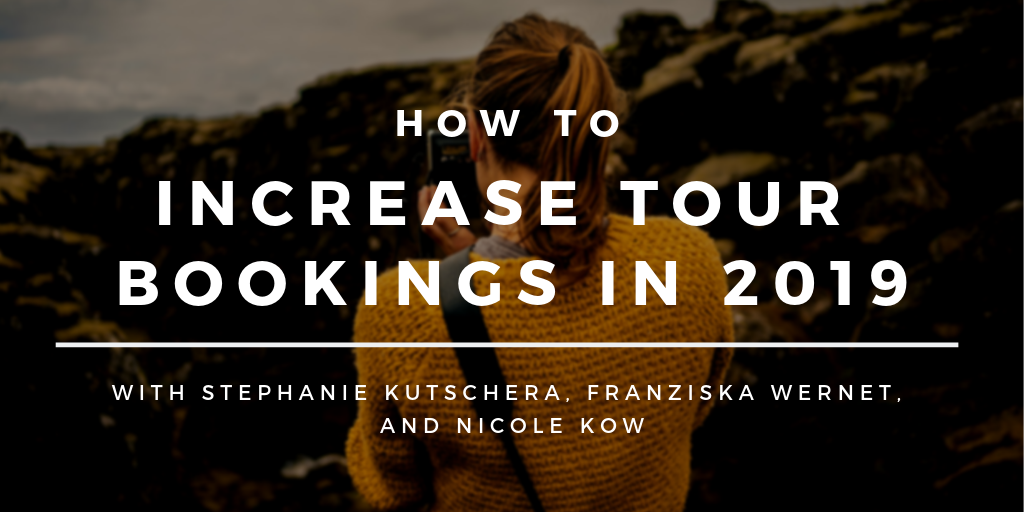 Header - How to increase tour bookings in 2019