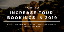 How to increase tour bookings in 2019 Image