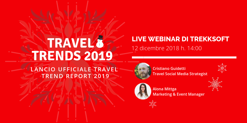 Travel Trends 2019  Lancio ufficiale Travel Trend Report 2019  Image